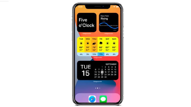 widgetsmith iphone