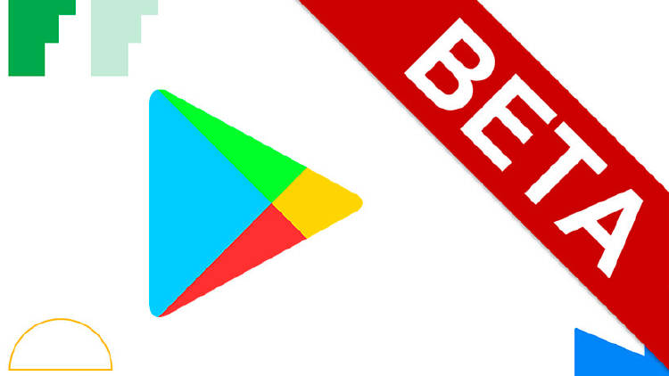 Apps beta Google Play