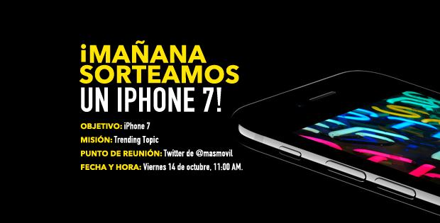 Así conseguimos que nuestro CEO, Maini, nos diera un iPhone 7 para vosotros
