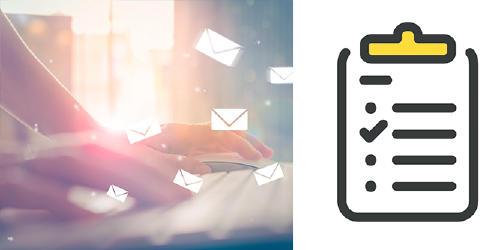 Recomendaciones trabajo email