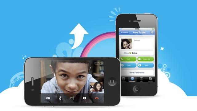 app mensajería y videollamadas | skype