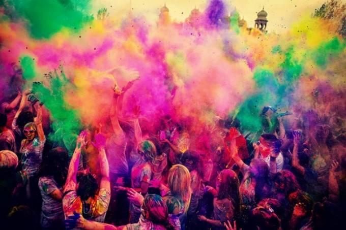 Holi Run, un festival raro