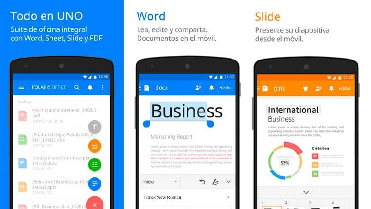 Apps PDF movil Android