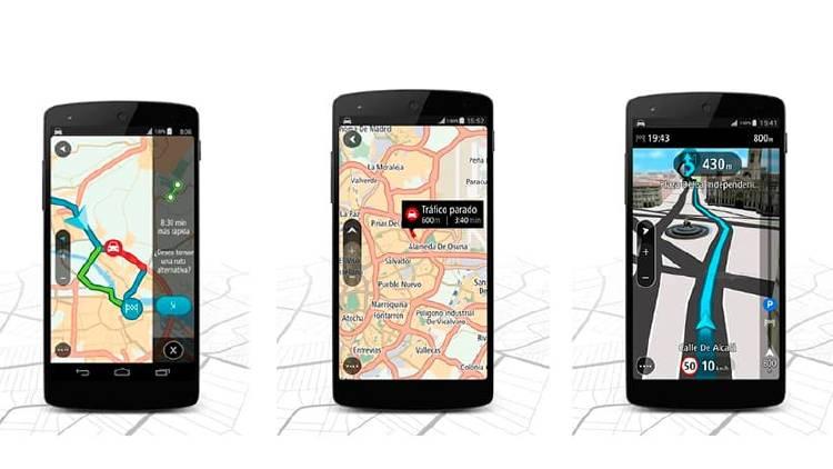 TomTom GPS  sin internet
