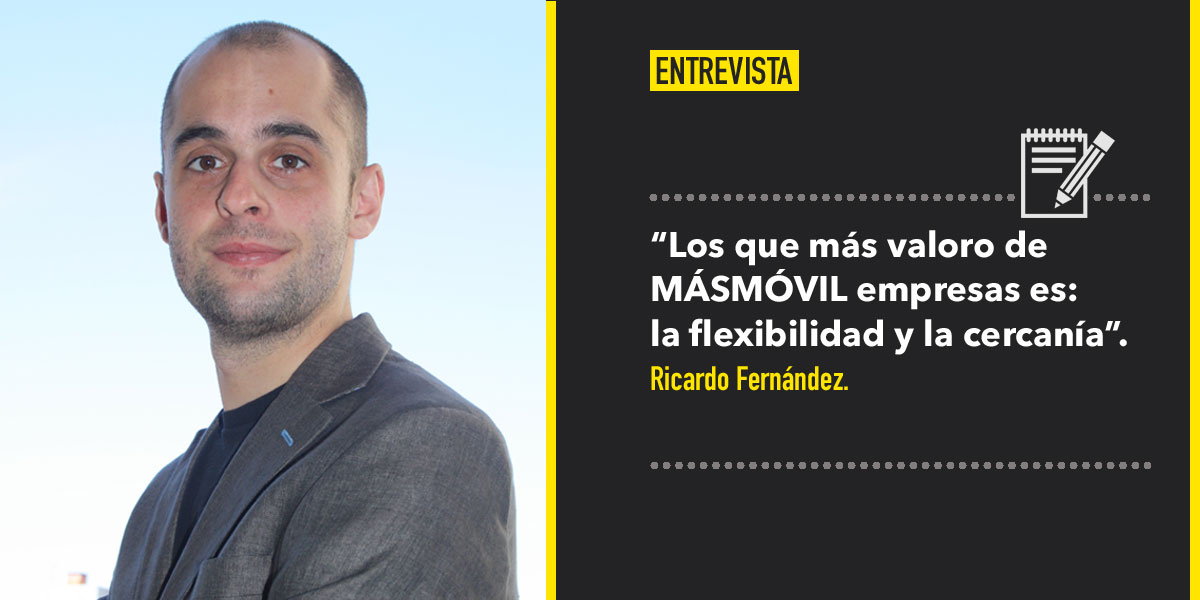 MÁSMOVIL entrevista a Ricardo Fernández Chief Strategy Office de Destinia