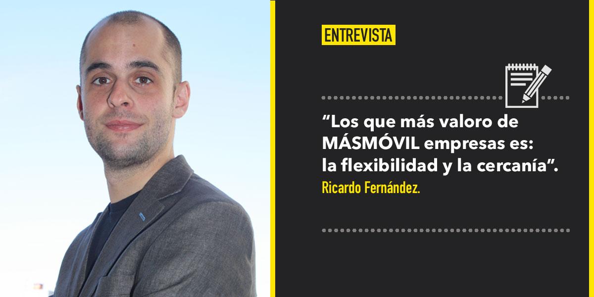 MÁSMOVIL entrevista a Ricardo Fernández Chief Strategy Office de Destinia