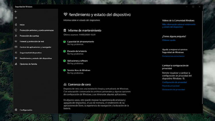 Windows Defender configurar 6
