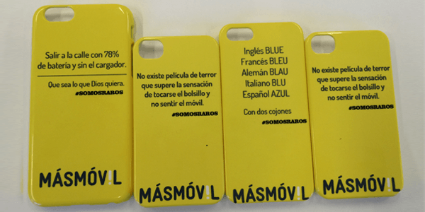fundas personalizables móvil