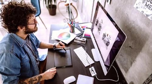 mejores cursos de diseño gráfico online