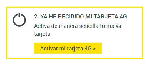 4G MASMÓVIL | activar SIM