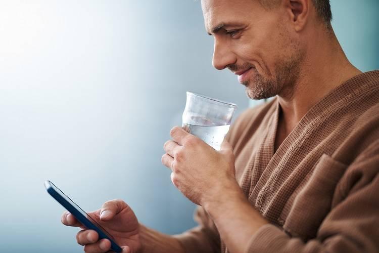 Apps para recordar beber agua