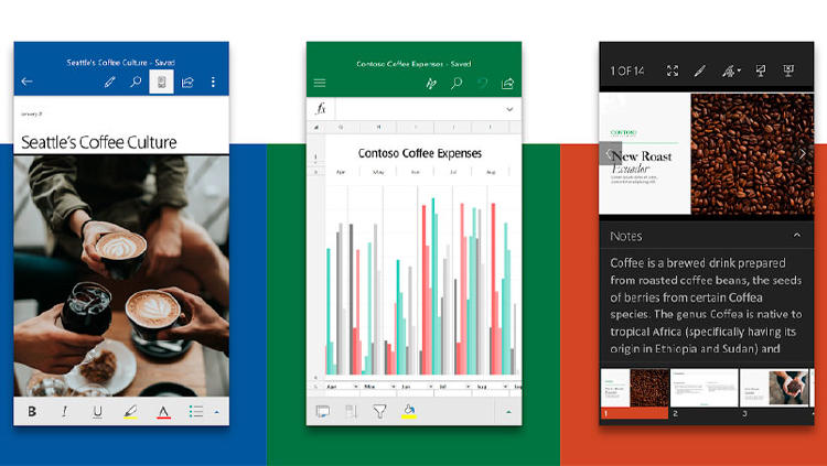 app word excel powerpoint movil