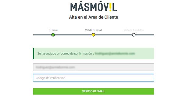 formulario de registro área de cliente