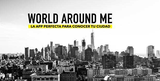 Aplicación world around me