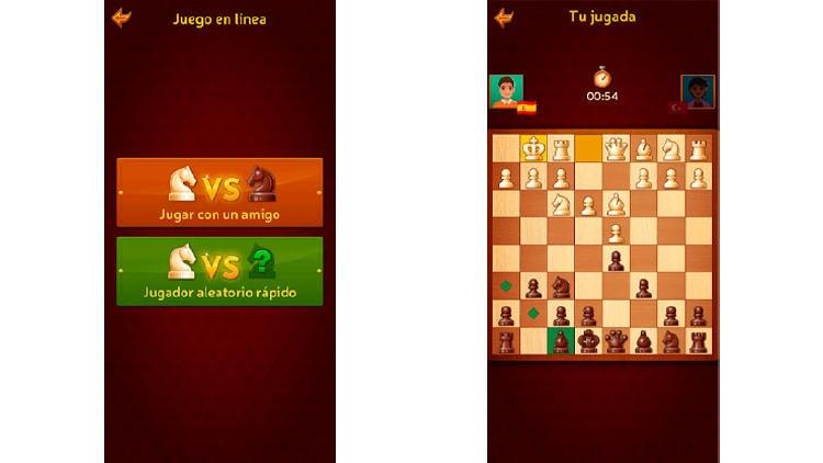 juego ajedrez online amigos