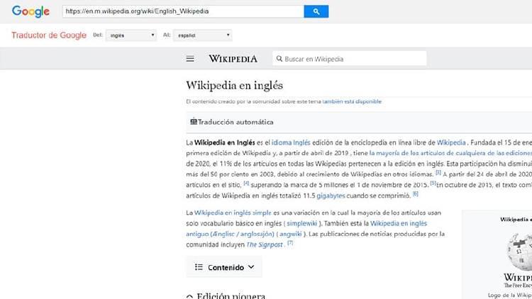 traducir web traductor google