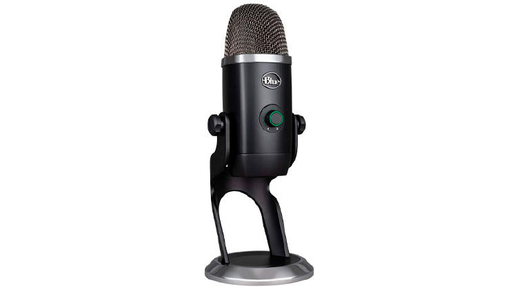 blue yeti microfono grabar