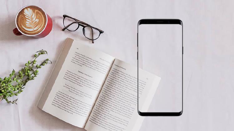 smartphone leer libros ebooks apps