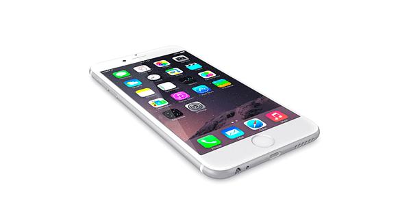 captura de pantalla con iPhone