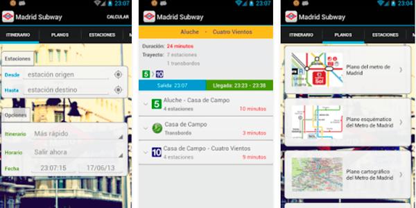 app metro de madrid offline