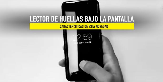 dedo de la mano pulsando sobre la pantalla del móvil