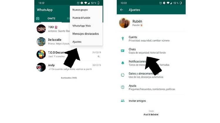 Cómo guardar una conversación de WhatsApp para siempre