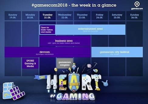 Agenda Gamescom