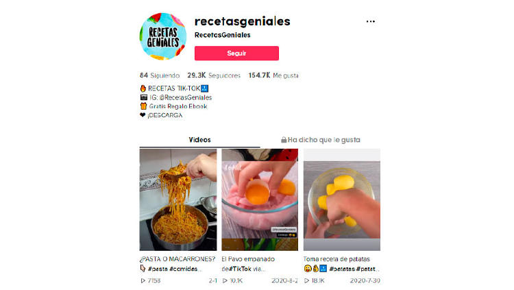 recetas originales