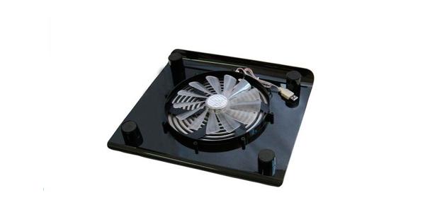 soporte con ventilador para portátil