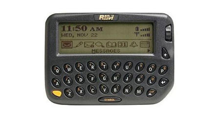 blackberry 850 | historia de Blackberry