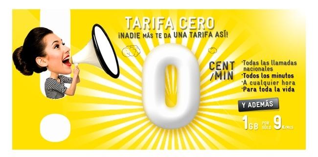 Tarifa 0 MASMOVIL