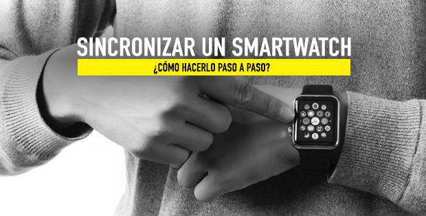 cómo sincronizar un smartwatch