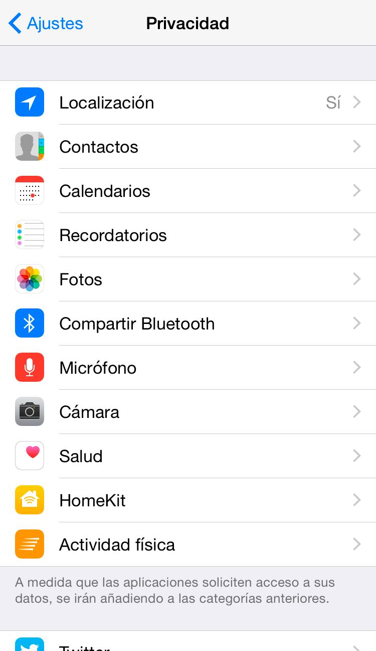 Ahorra batería en tu iPhone con estos consejos | Ajustes de privacidad