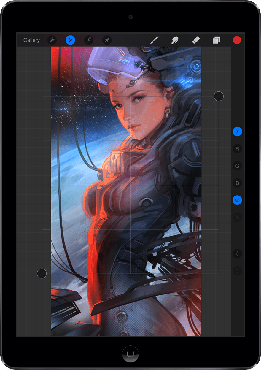 Procreate - Curves