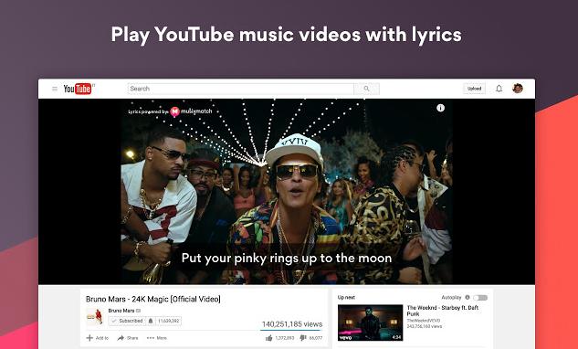 karaoke en Youtube