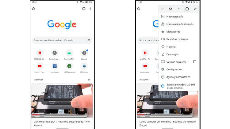 google chrome privado