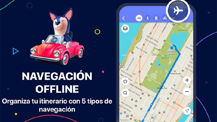 maps offline caravana