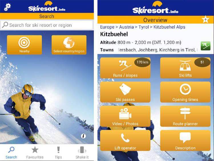 esquiar en europa