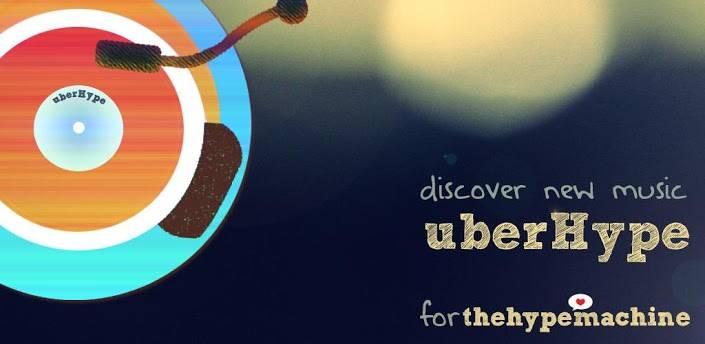 uberhype, app para descubir música