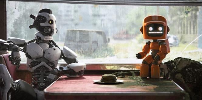 Imagen capitulo 2, Tres robots