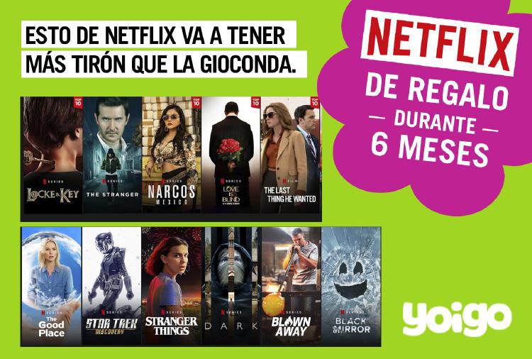 Yoigo Netflix