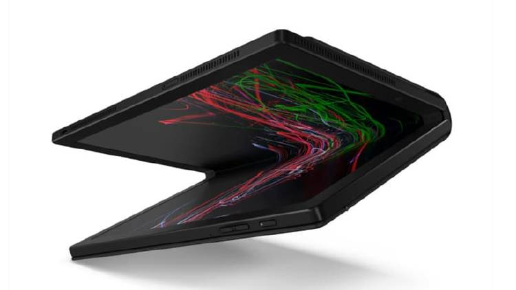 Ordenador portatil plegable Lenovo CES 2020