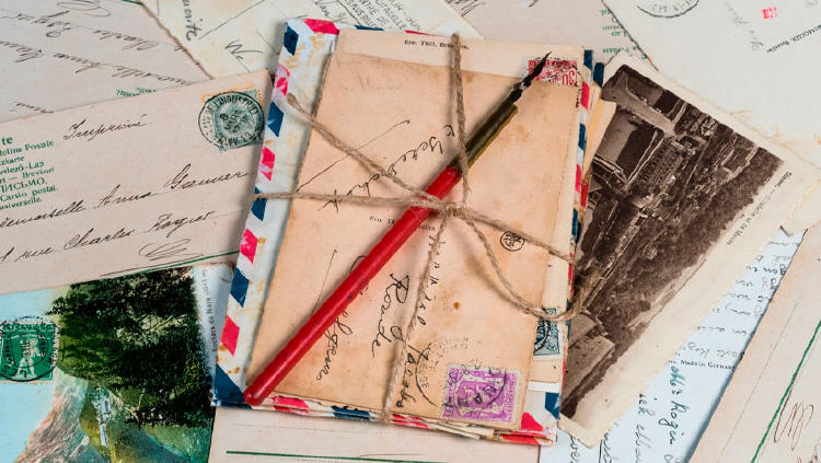 postales cartas