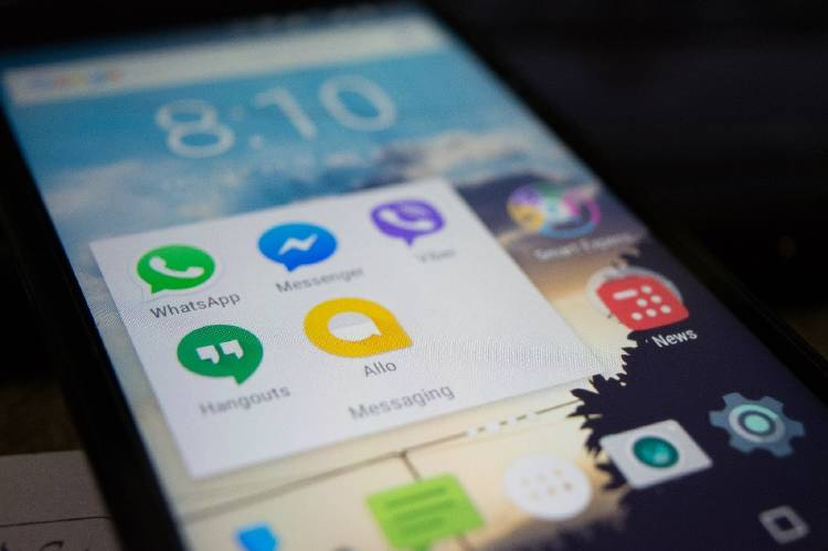 Aplicaciones de mensajería