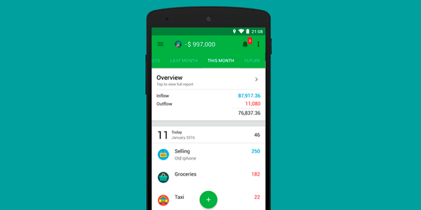 Apps para controlar tus finanzas personales | money lover