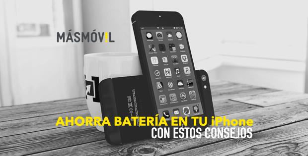 Ahorra batería en tu iPhone con estos consejos