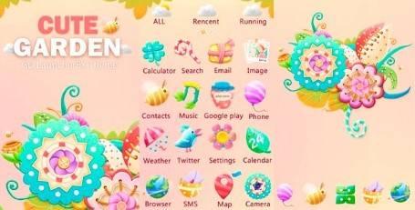 iconos móvil | 1 cute
