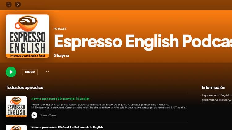 podcast aprender ingles