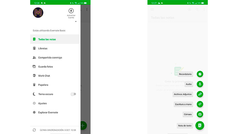 escanear documentos con evernote