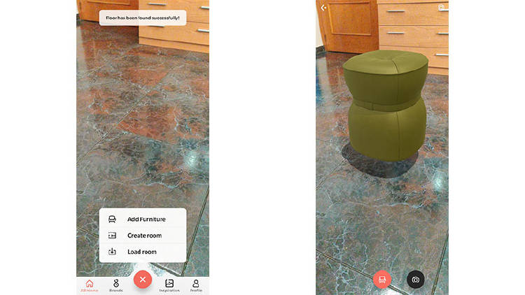 realidad aumentada muebles